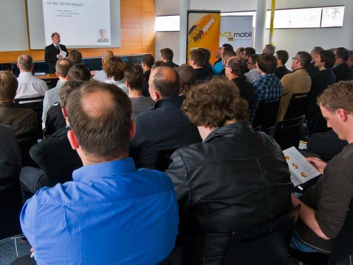 Die neue Backup-Lösung wurde gestern Abend Partnern und Kunden von Highspeed Business im Medienhaus präsentiert.
