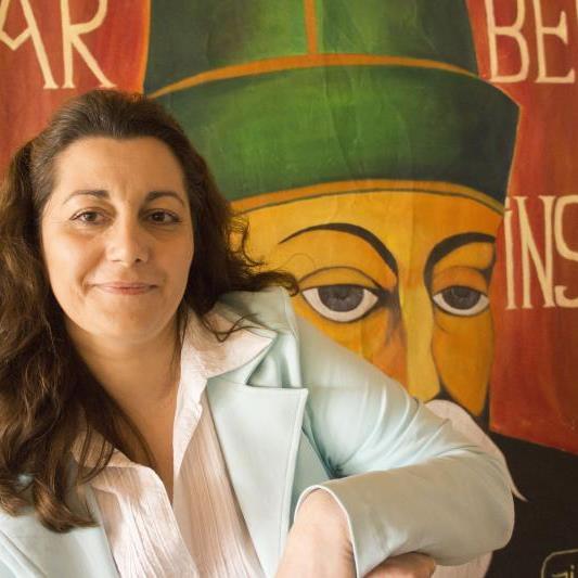 Nurcan Bakmaz im Alevitischen Zentrum in Weiler.