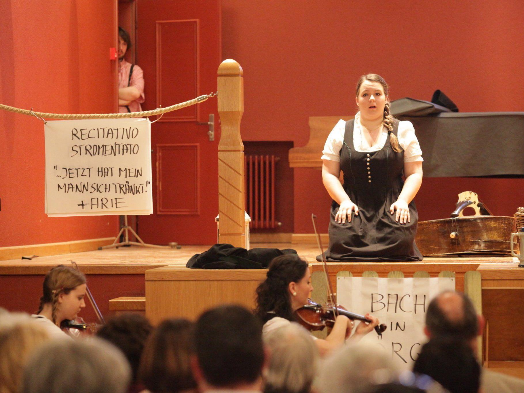"""4. Podium Konzert in Vaduz """"Der Bassgeiger zu Wörgl""""."""