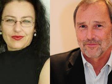 Andrea Wiedemann und Klemens Voit.