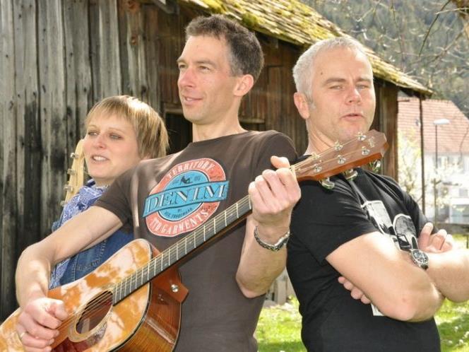 Lisi, Stephan und Thomas
