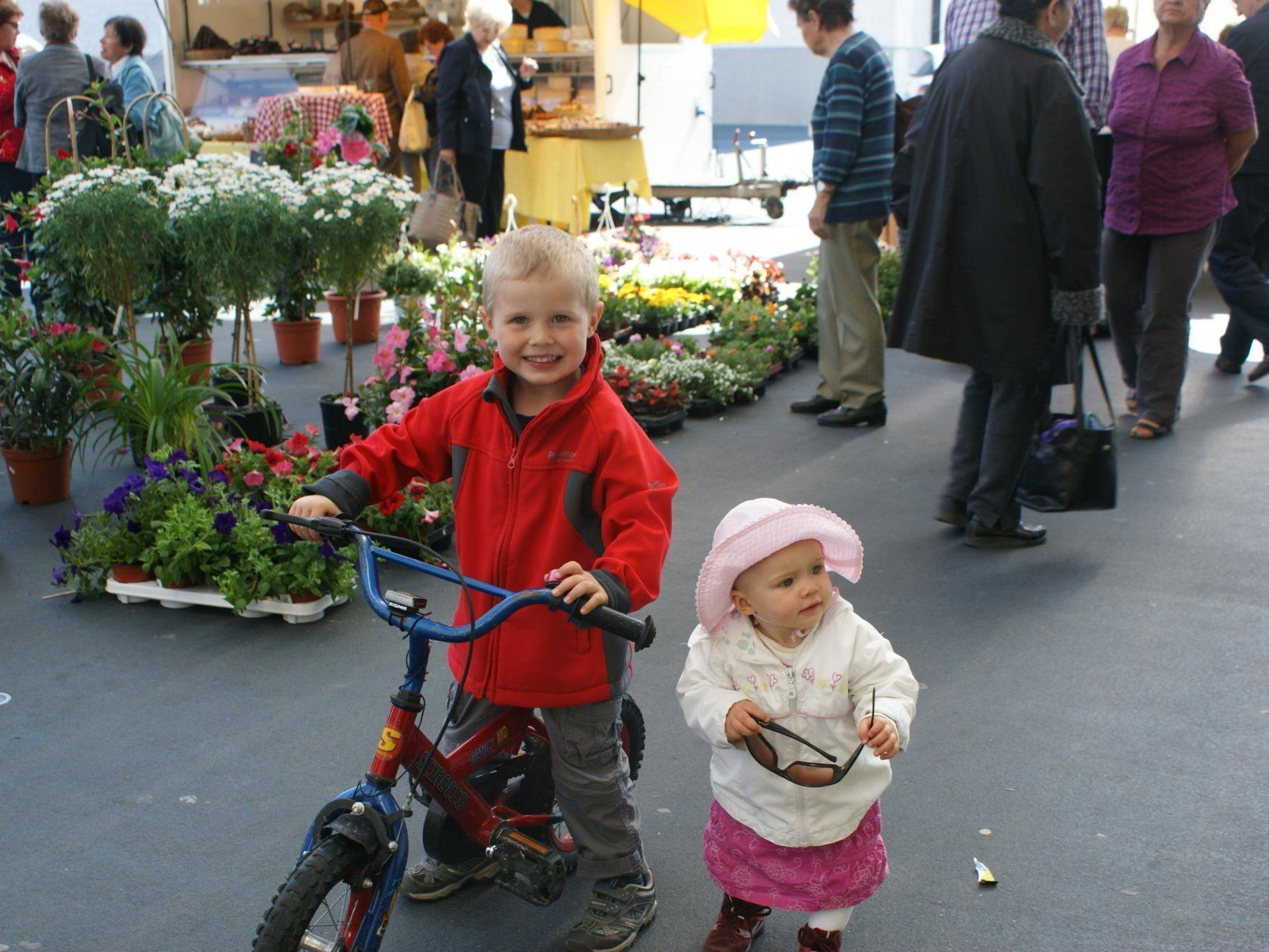 Marktsamstag für Jung und Alt