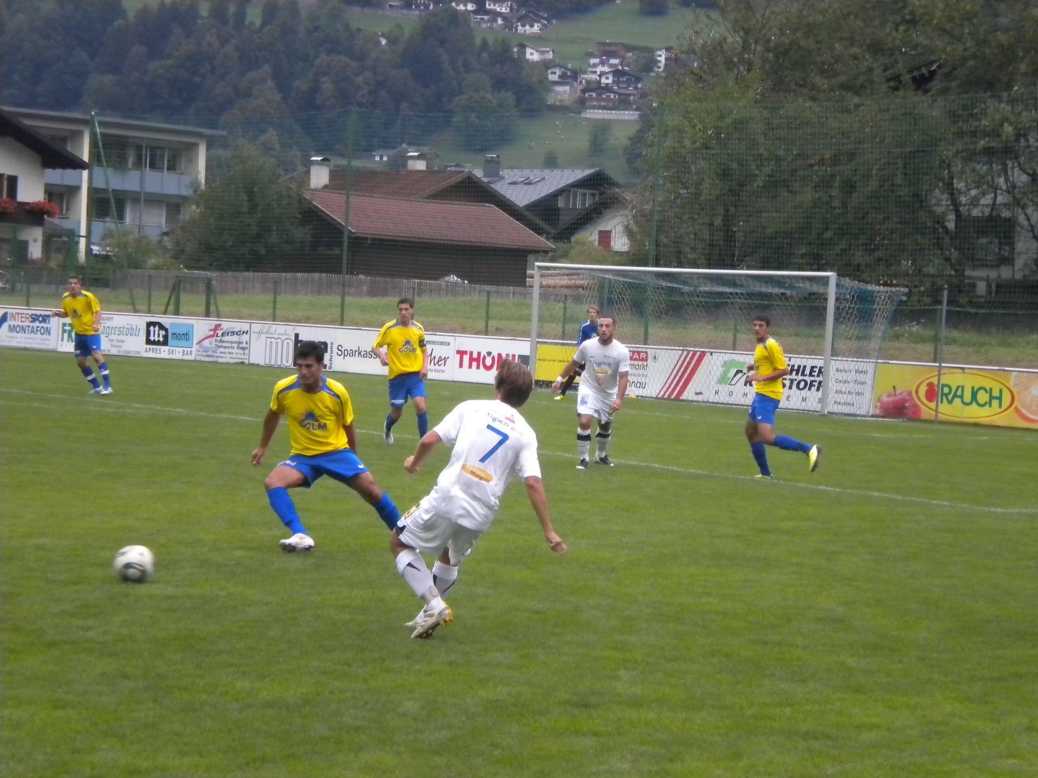 Gegen den SV Lochau gab es keine Punkte für Schruns