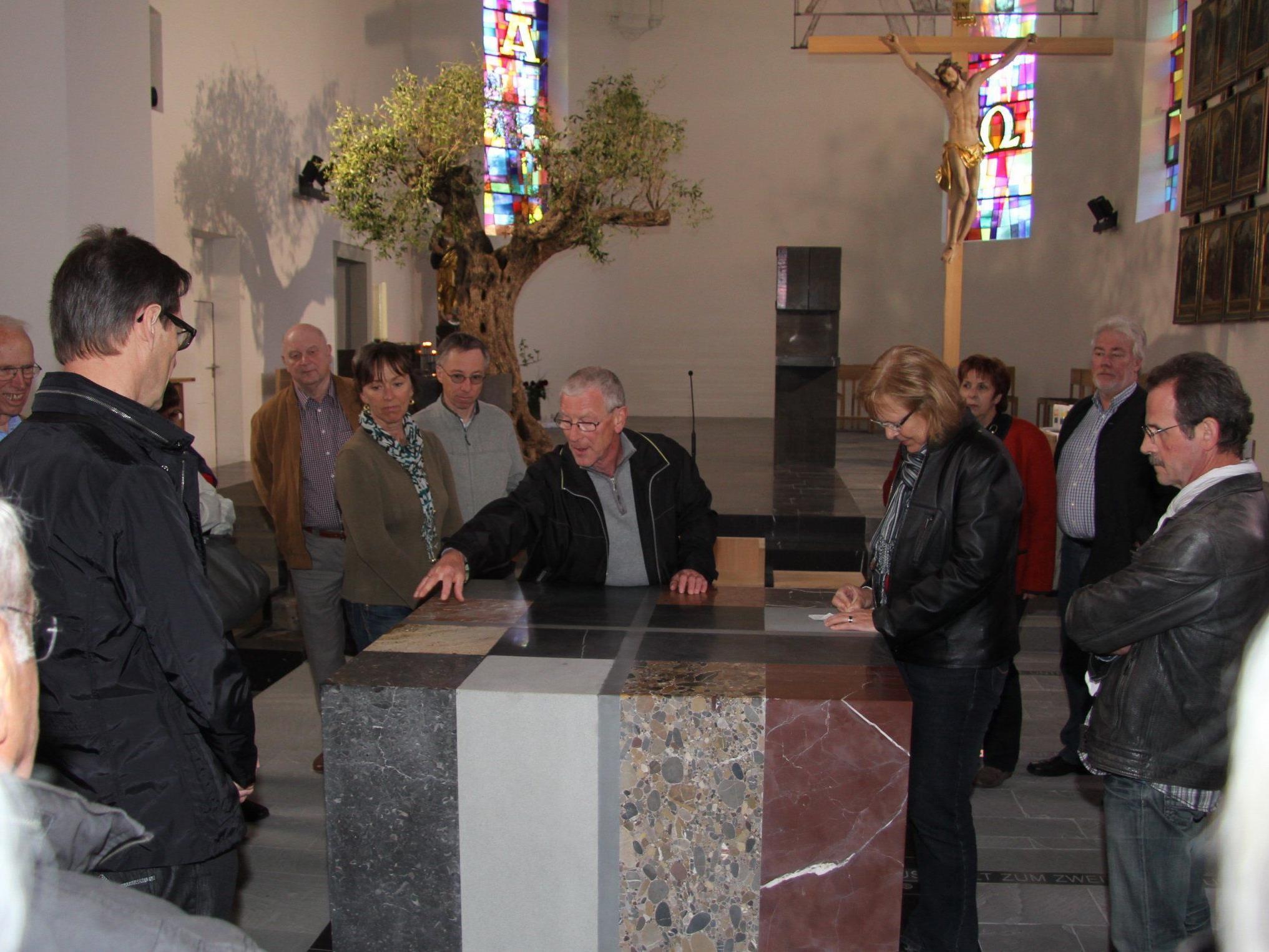 Altar der Lingenauer Kirche