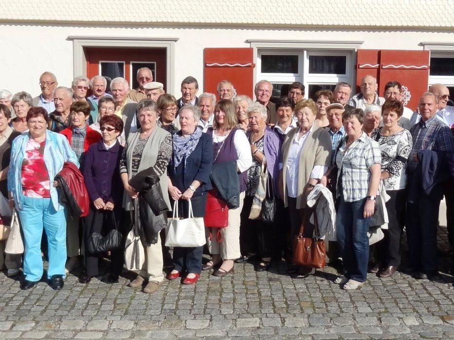 Nach der Einkehr im Gasthof Rose in Argenbühl - Eglofs ging´s nach dem Foto heimwärts in´s Ländle