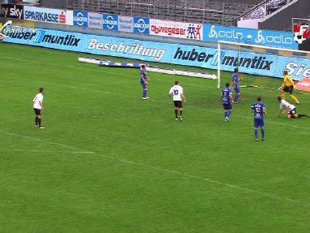 Die Altach Amateure durften sich über einen 3:1-Erfolg über den FC Hard freuen