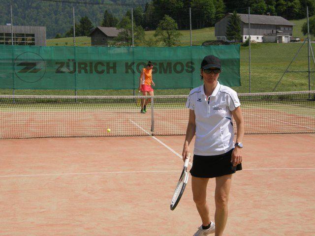 Helga Vögel erspielte zwei Punkte