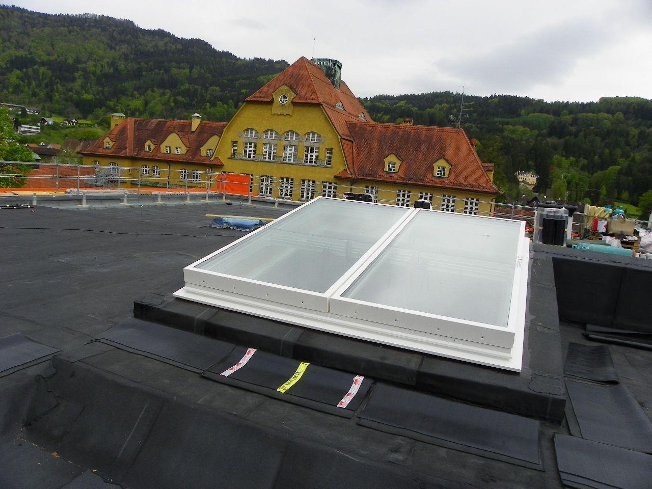 Alte und neue Dachansichten