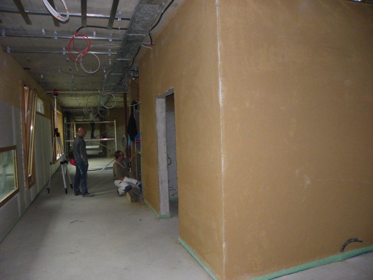 Lehmverputz für Innenwände