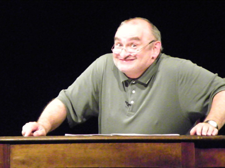 Kabarettist Sigi Zimmerschied