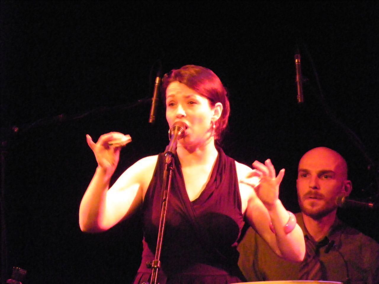 Jazzsängerin Céline Rudolph