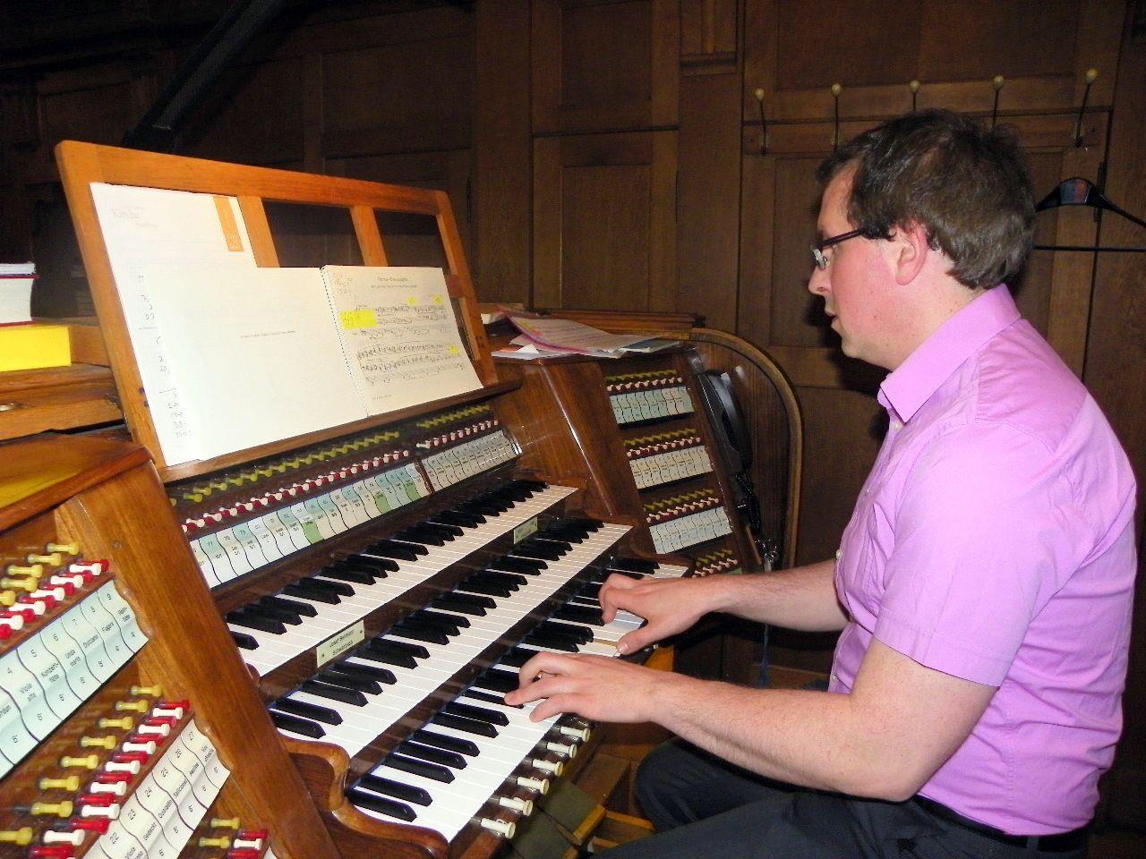 Orgelvirtuose Michael Schwärzler