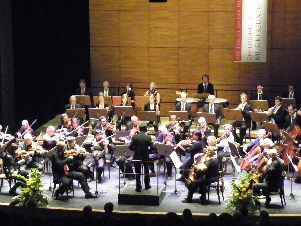 Vereinskonzert der Gesellschaft der Musikfreunde Bregenz