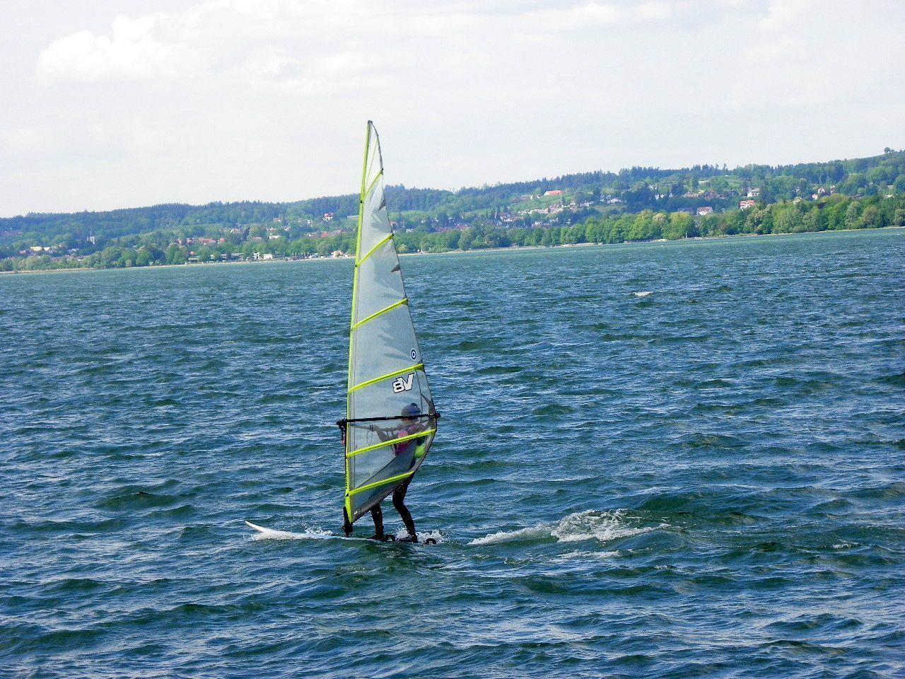 Flotte Fahrt mit dem nötigen Wind
