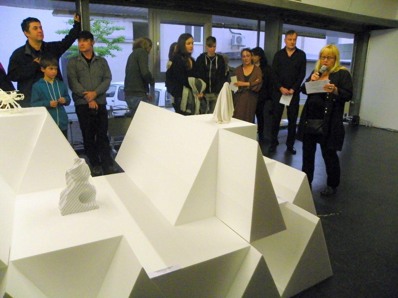 Eröffnung in der Galerie Lisi Hämmerle