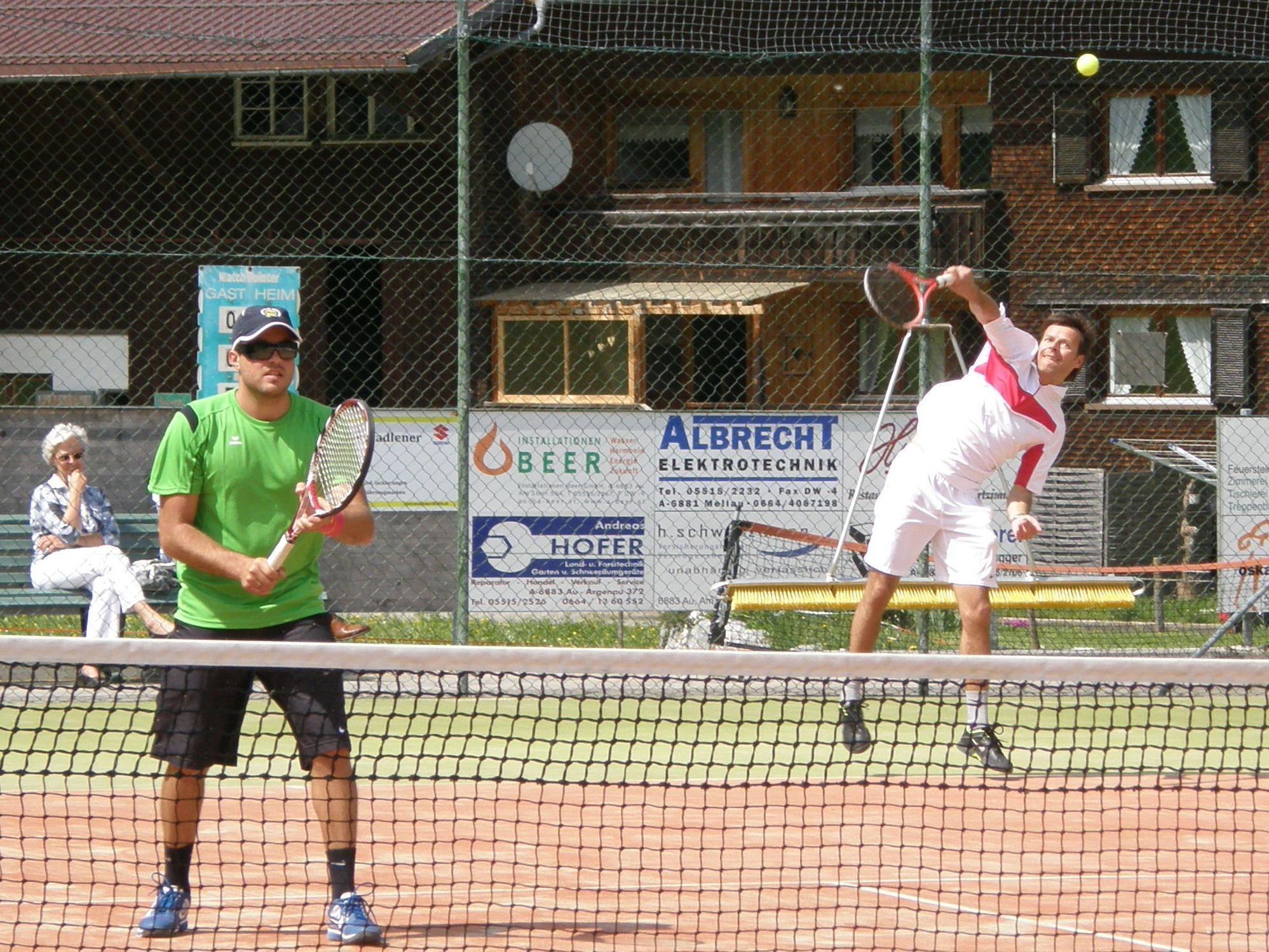 Die Wälder Tenniscracks spielen im Mai und Juni um den Meistertitel.