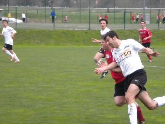 Der FCS 1b erkämpft einen Punkt gegen den FC Lustenau