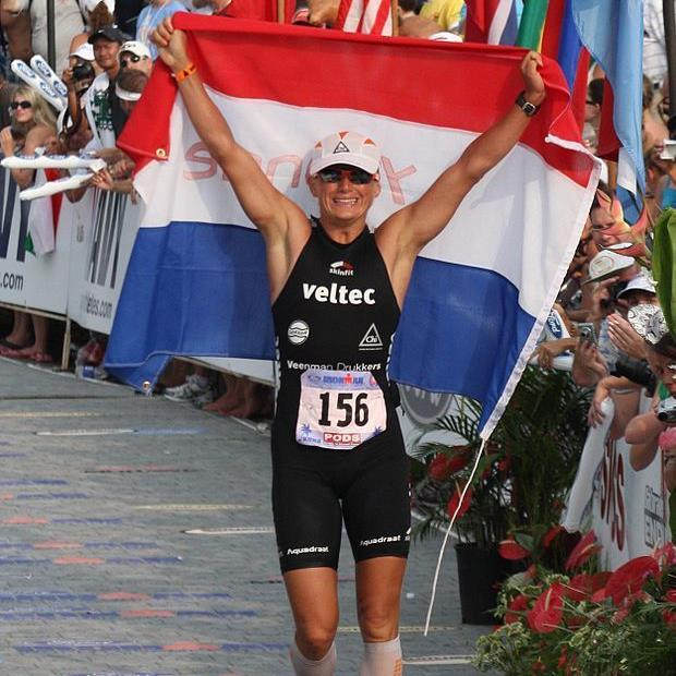 Superstar Yvonne Van Vlerken startet beim Trans Vorarlberg Triathlon.