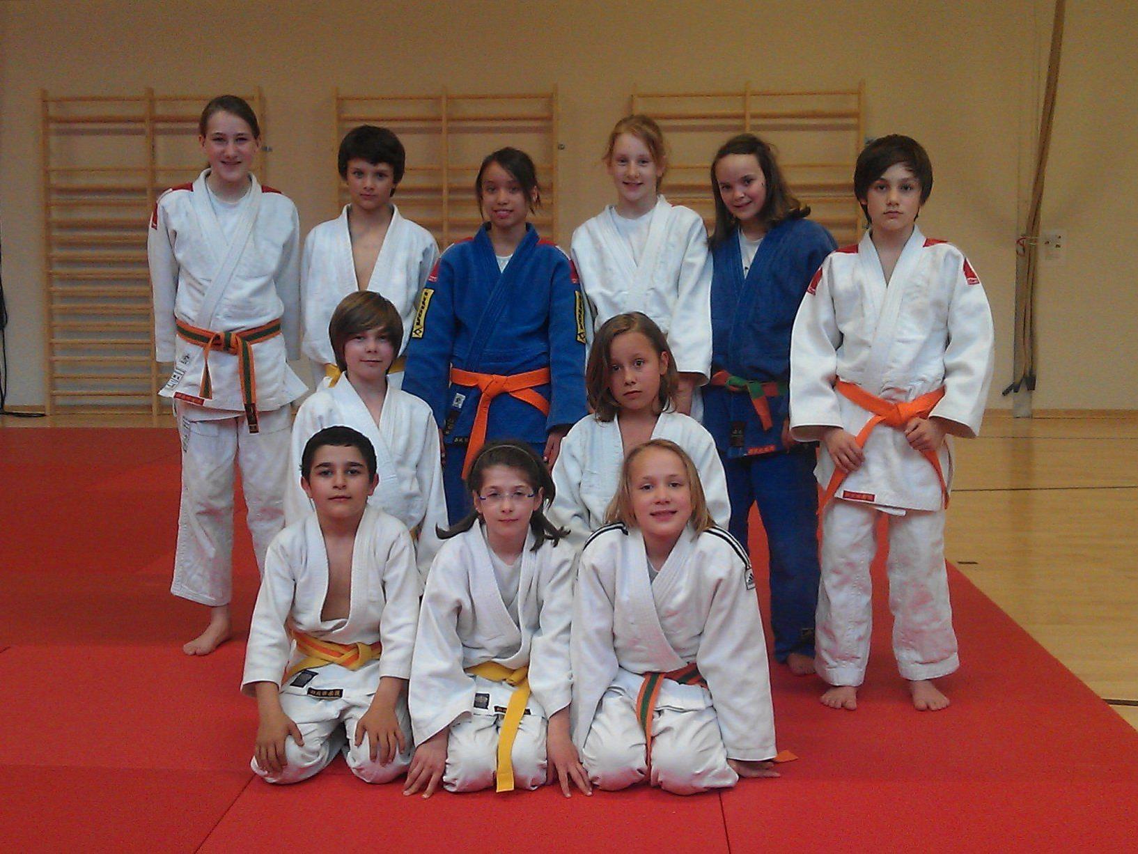 Die U15 Mannschaft des JC Montafon