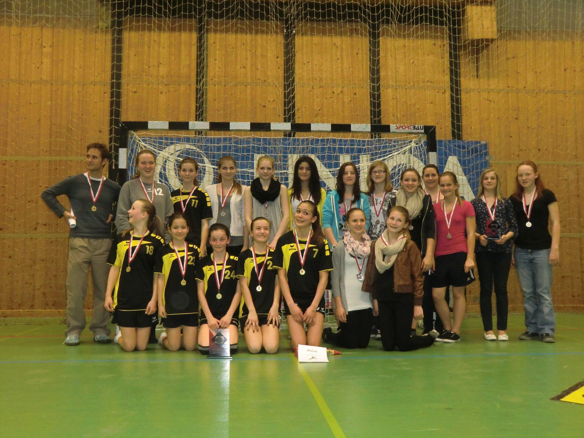 Die Ländle-Farben beim Uniqua-Schulcup vertreten Feldkirch und Bregenz.