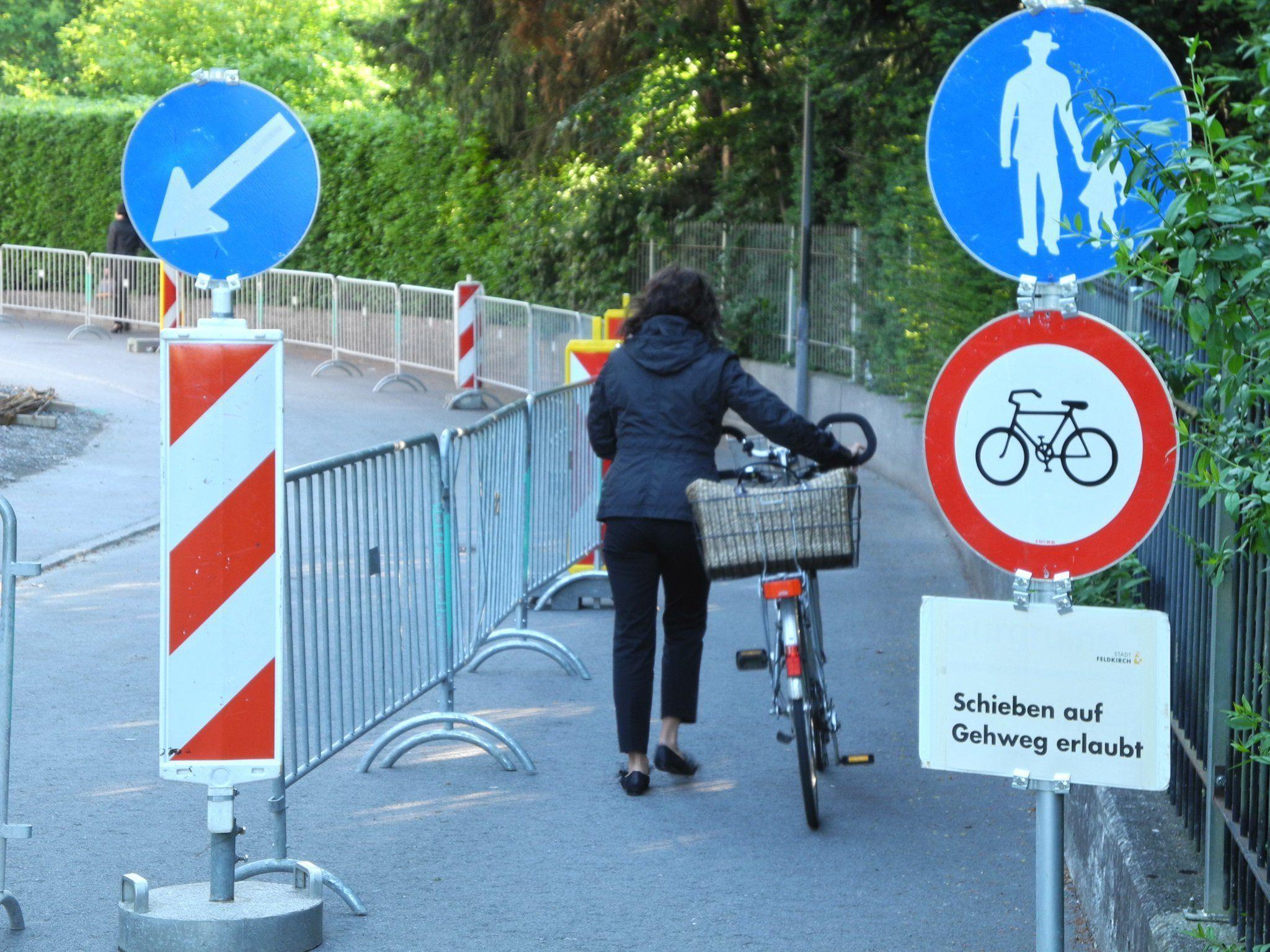 Die Arbeiten bei der Fidelisstraße sind geplant, bis Ende Mai abzuschließen.