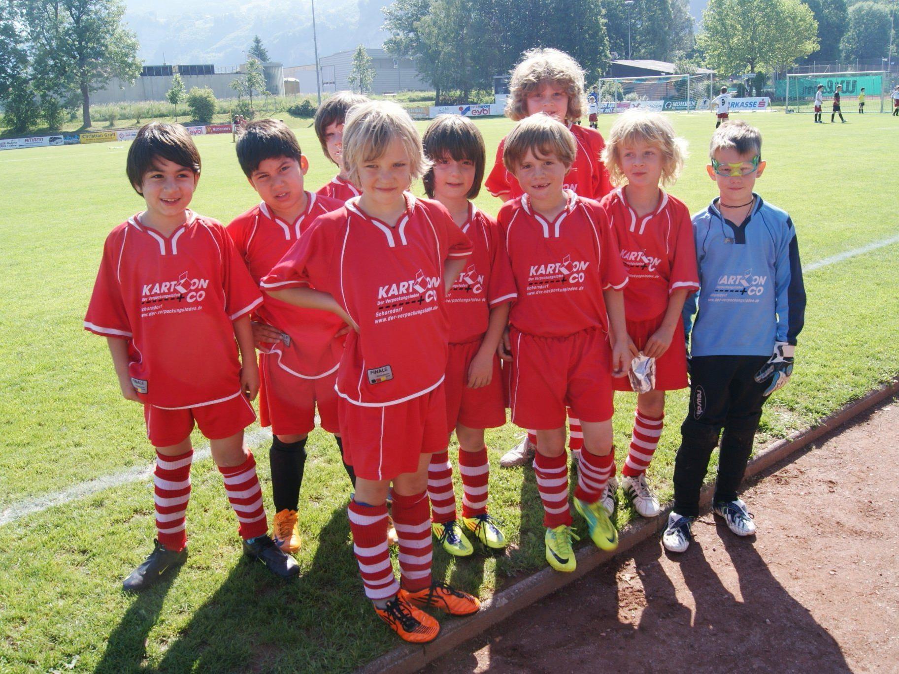 Die Jungs des TSV Haubersbronn
