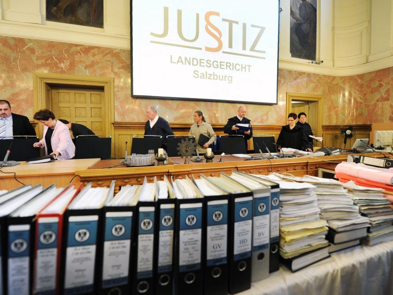 Nur ein Fall konnte am zwölften Prozesstag in Salzburg verhandelt werden.