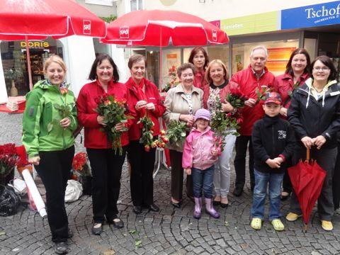 Aktion der SPÖ-Frauen im Mai