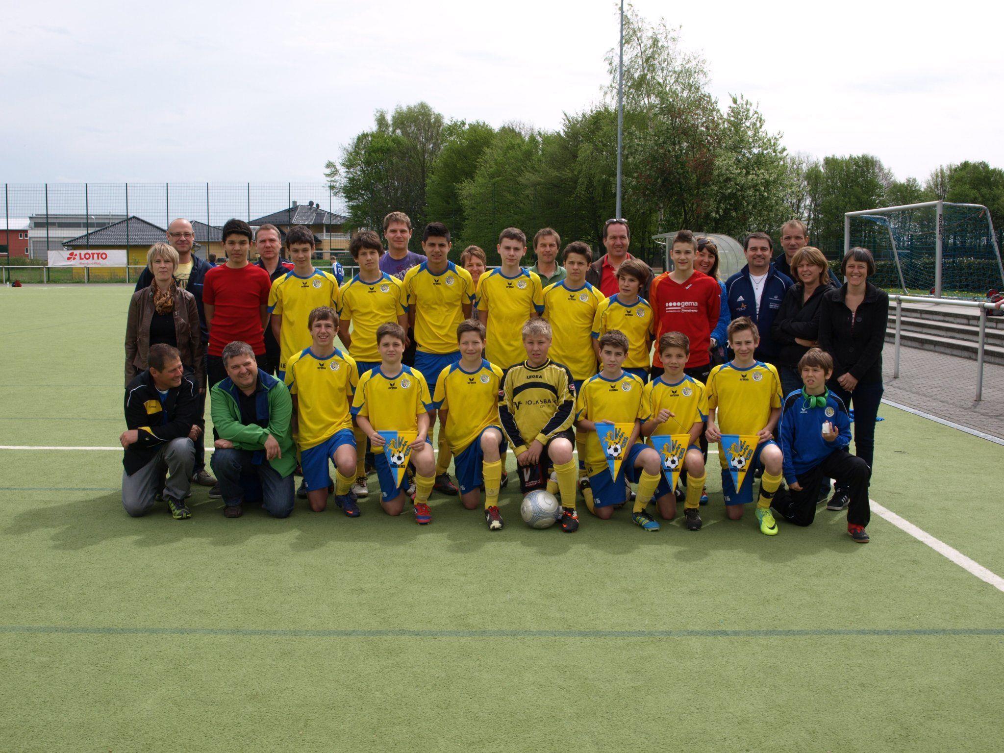 Mit einem Turniersieg kehrte die U-15-Truppe von VfB Hohenems aus Deutschland zurück.