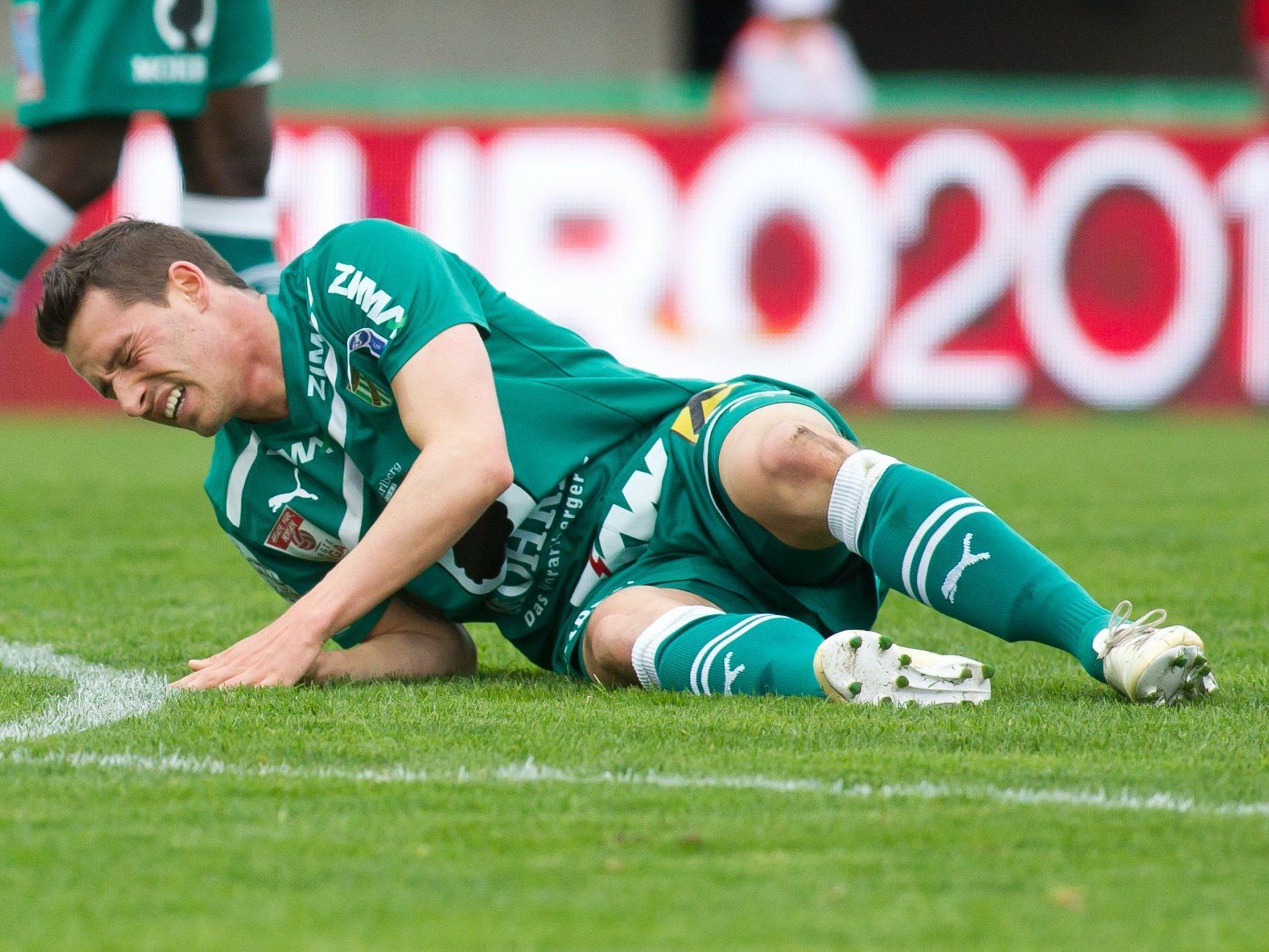 Herber Rückschlag für die Lustenauer Austria im Kampf um den Titel in der Erste Liga.