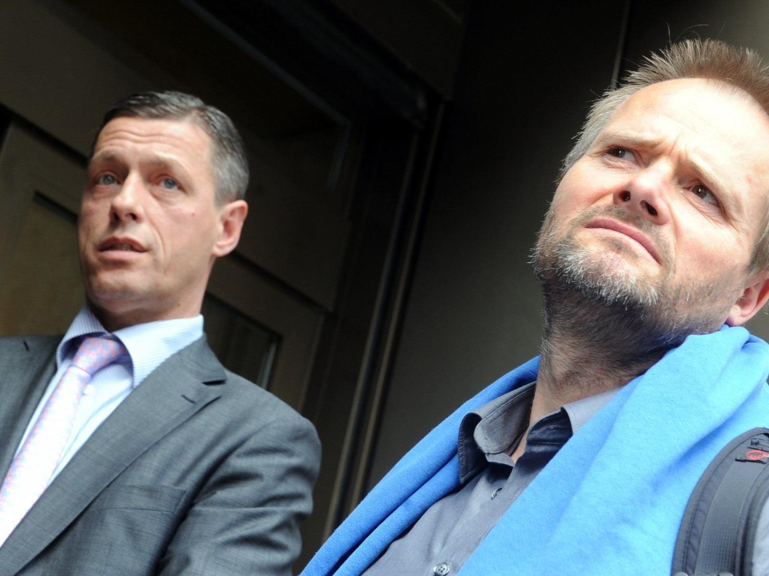 er Chef der Strafrechtssektion des Justizministeriums Christian Pilnacek (l.) und der streitbare Tierschützer und VGT Obmann Martin Balluch.