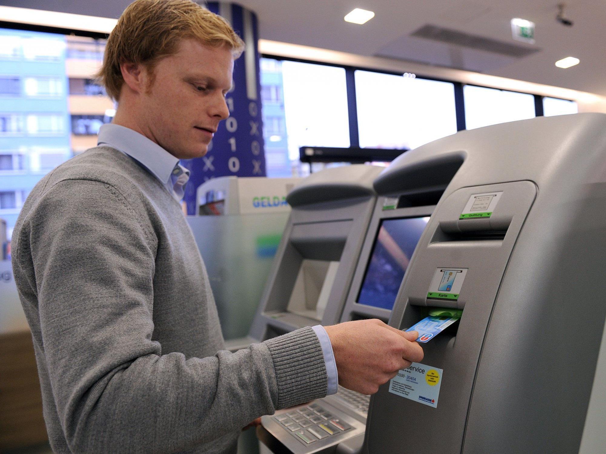 Vorsicht am Bankomat ist immer gefragt.