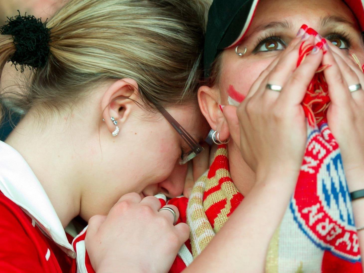 Nicht nur die Bayern-Fans befinden sich in kollektivem Schockzustand.