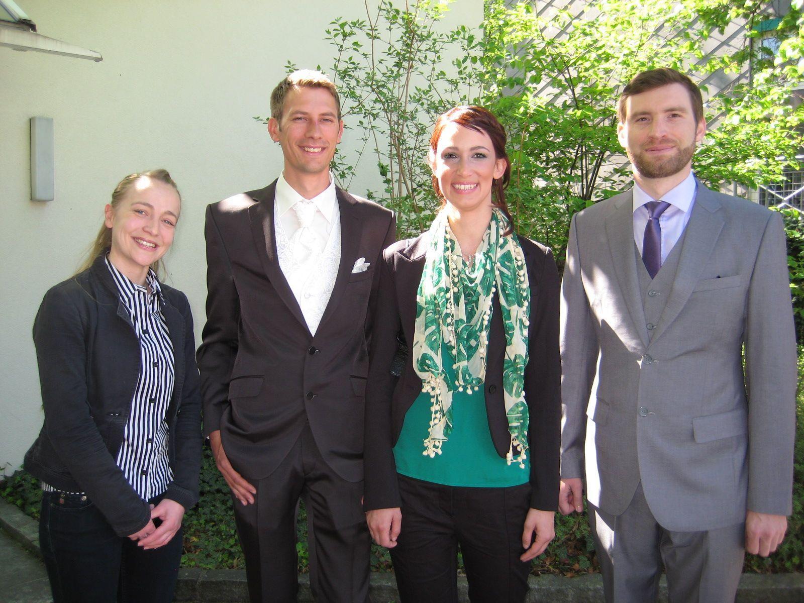 Alexandra Heinzle und Frowin Loacker haben geheiratet.