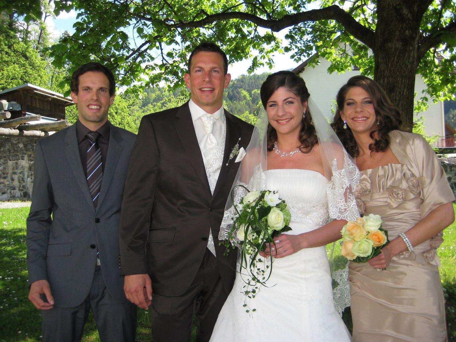 Nadja Mätzler und Martin Boll haben geheiratet.