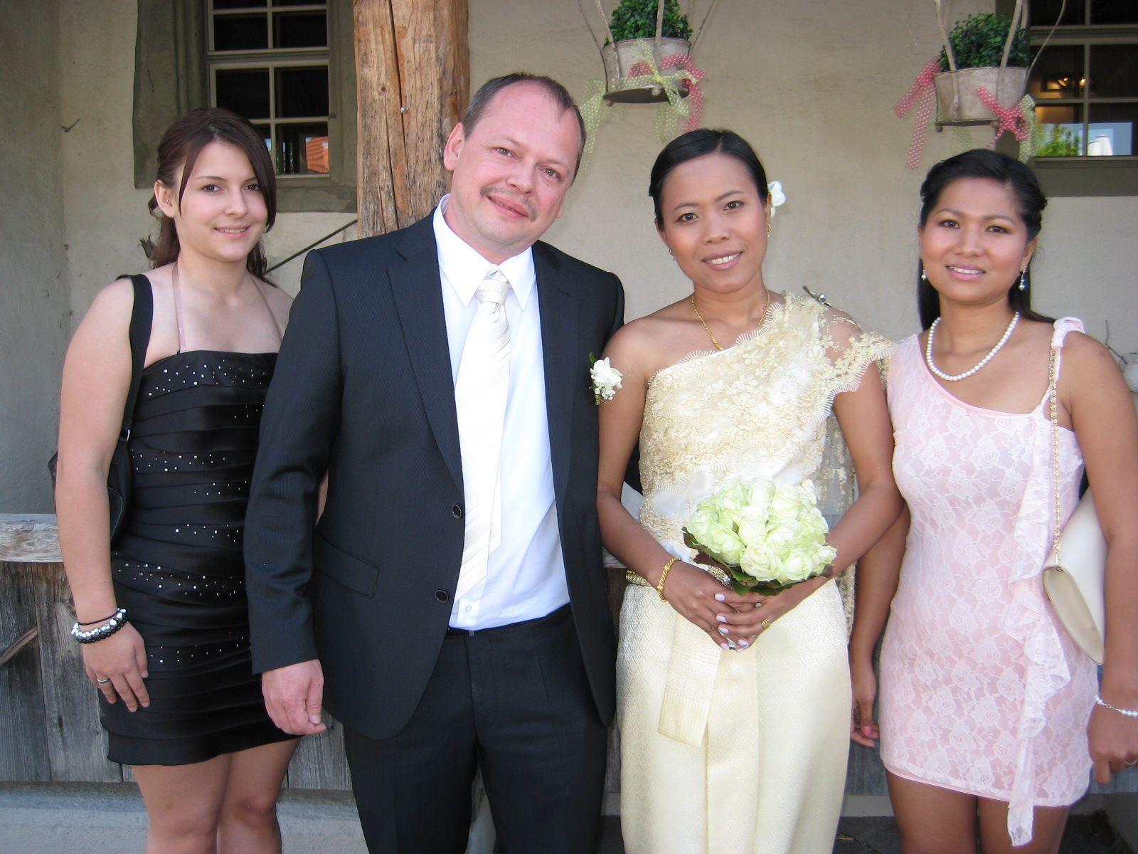 Sujit Taewpattha und Markus Gwehenberger haben geheiratet.