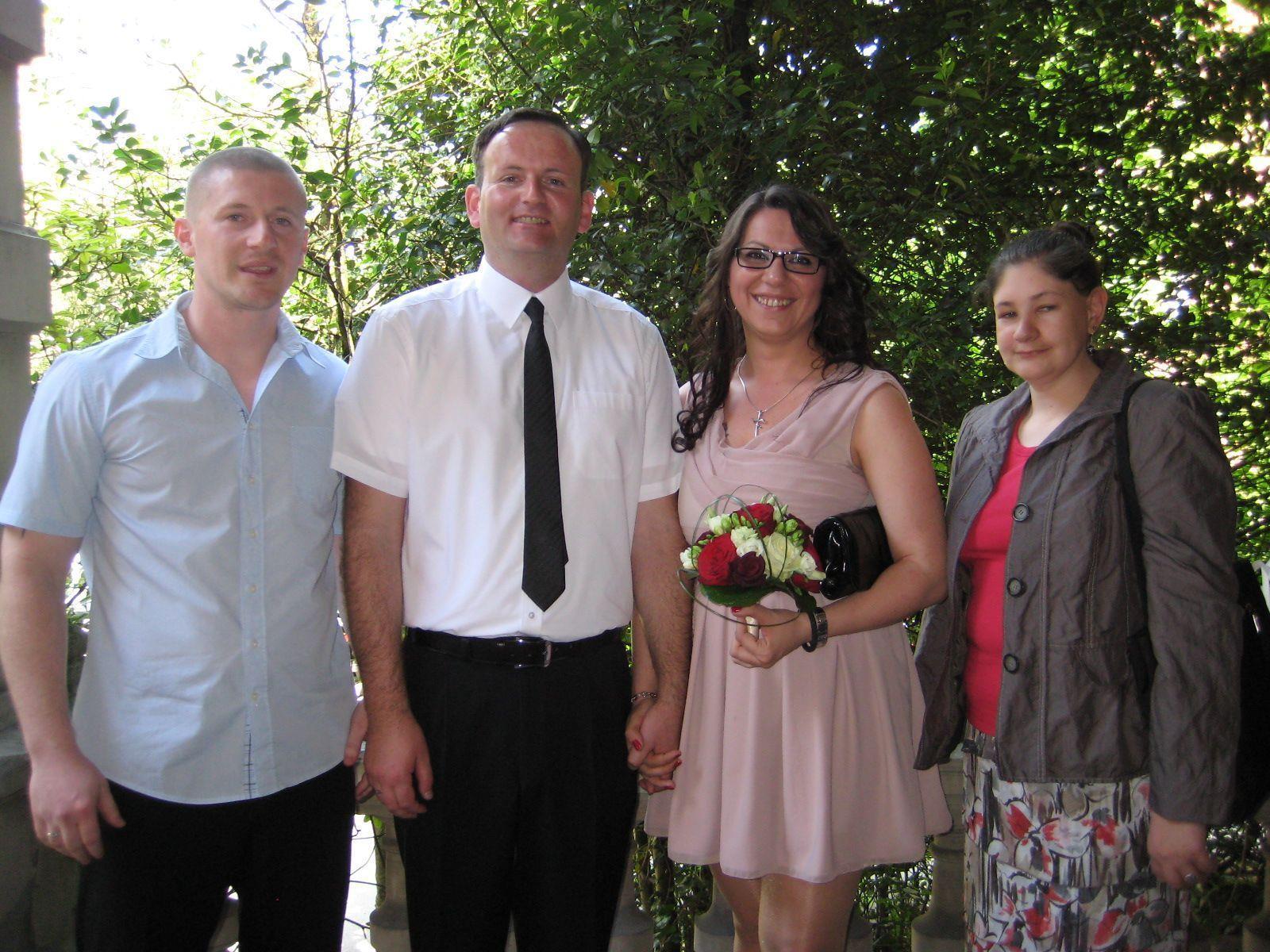 Biljana Cekic und Ivica Sutalo haben geheiratet.