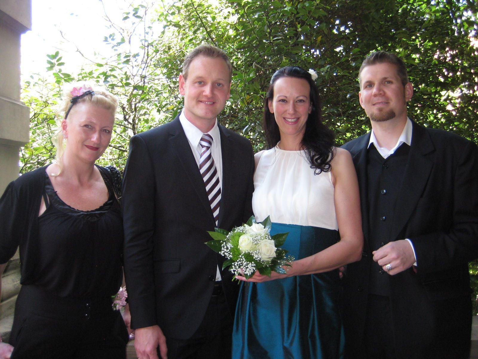 Bettina Birzle und Michael Kleinmaier haben geheiratet.