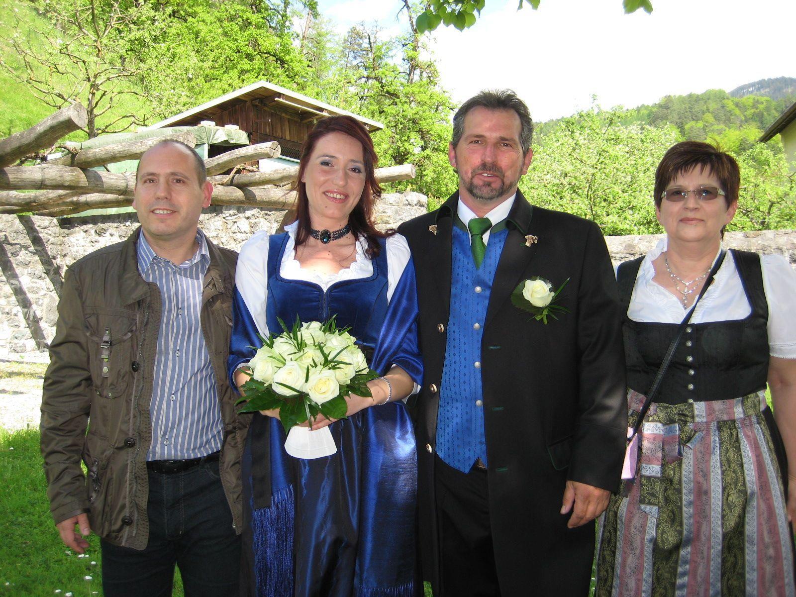 Carolina Patschg und Christian Kessler haben geheiratet.