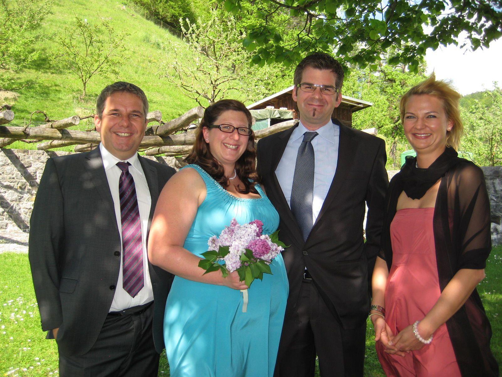 Daniela Neurauter und Bernhard Jonas haben geheiratet.