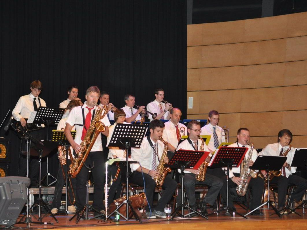 Voluminöser Big-Band-Sound erfreute bei der Big Band Night in Mäder.