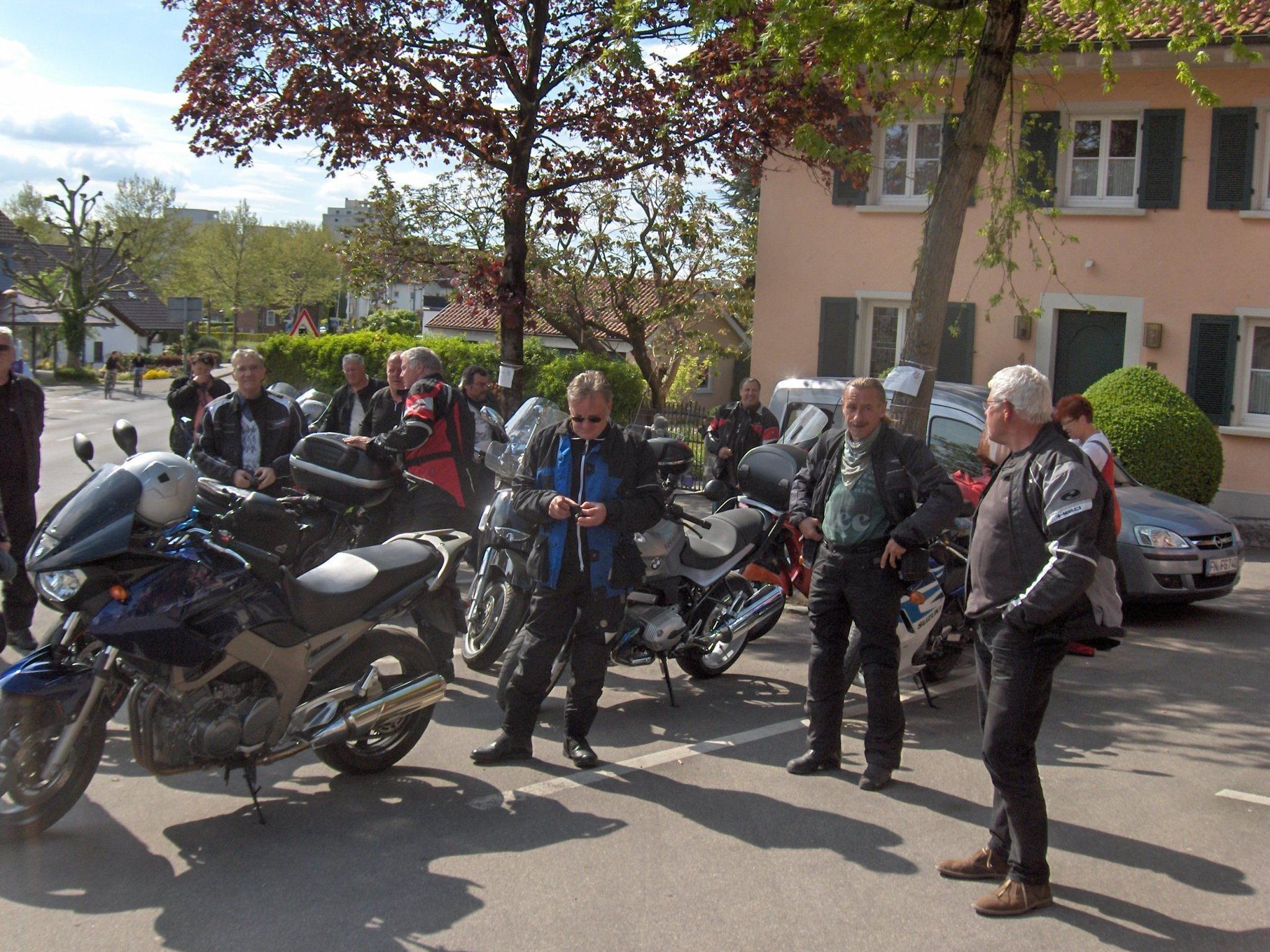 Geselligkeit steht bei den PVÖ-Bikern hoch im Kurs.