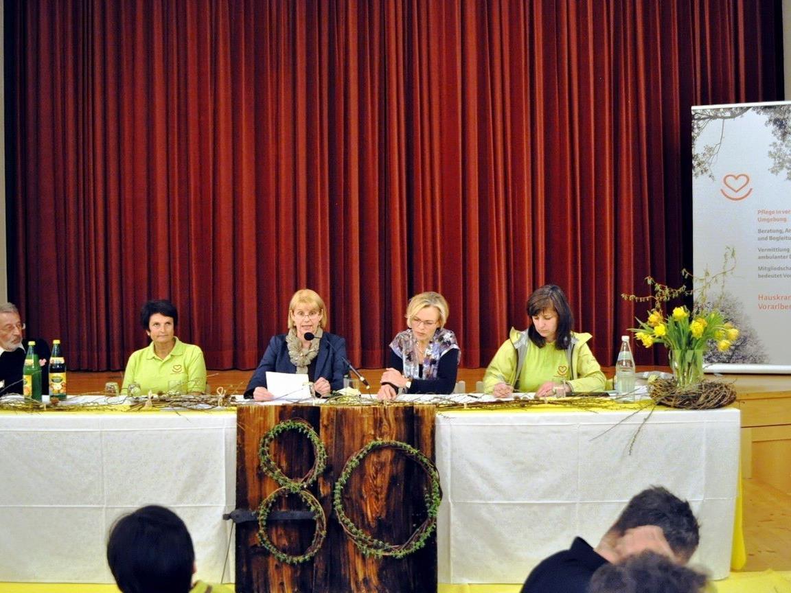 Die diesjährige Jahreshauptversammlung stand im Zeichen des 80jährigen Jubiläums.r