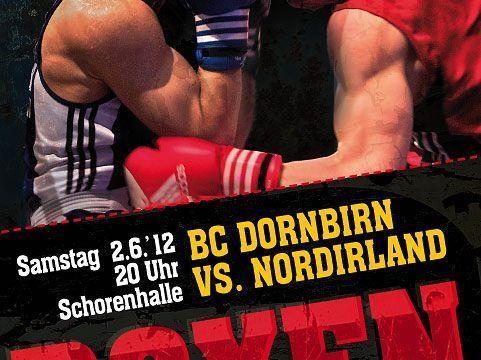 Am Samstag trifft der Boxklub Dornbirn auf Irland.
