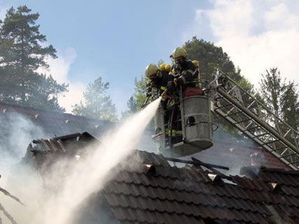 In Deutschlandsberg stand ein Gebäude in Brand.