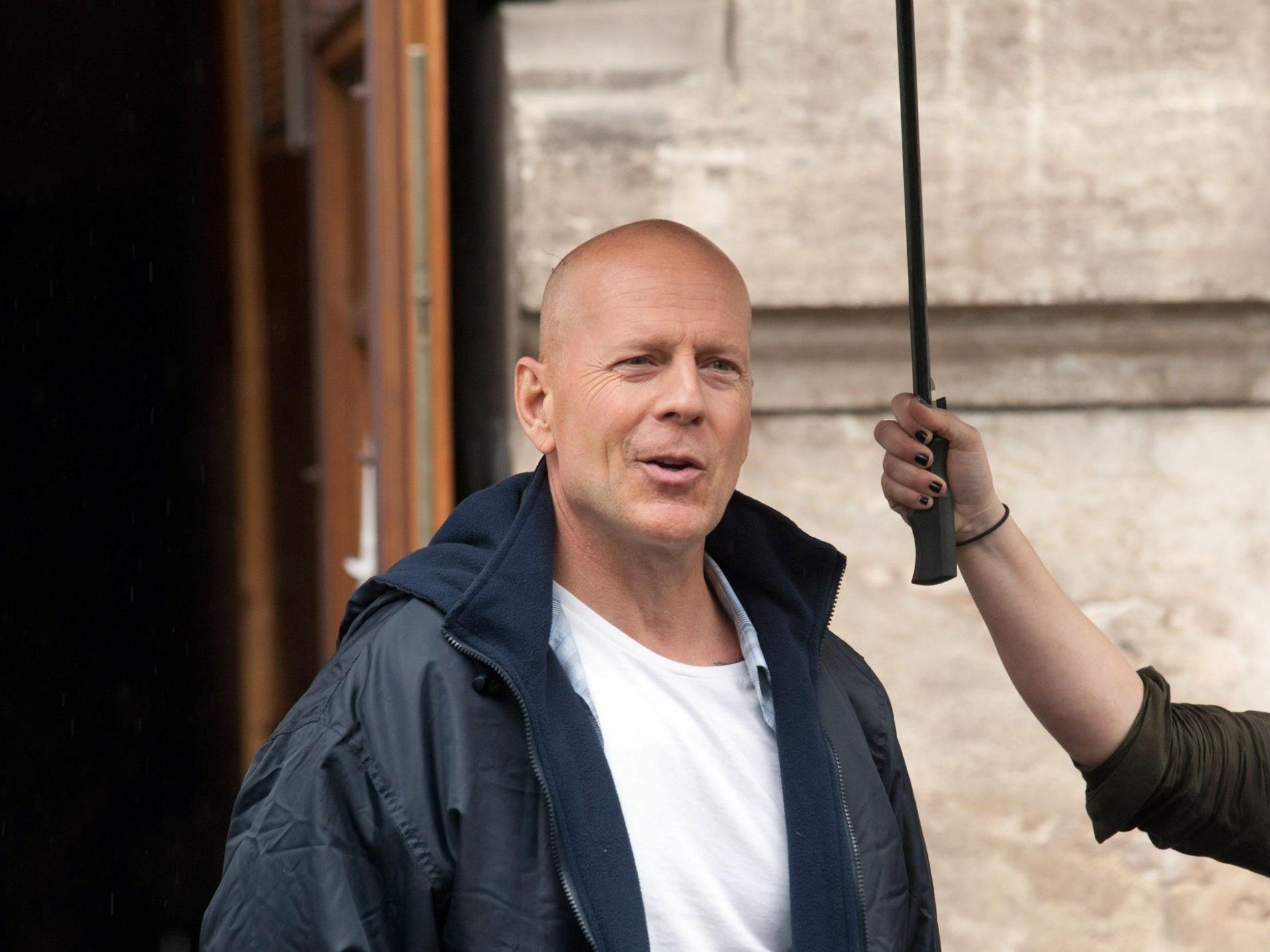 Gut beschirmter Action-Star Bruce Willis