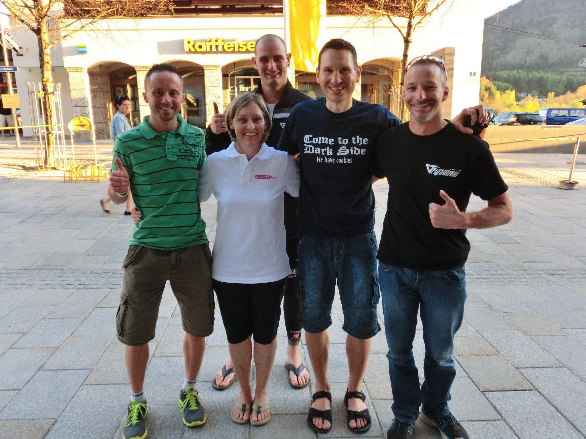 Bregenzer Sportler trafen Kate Allen
