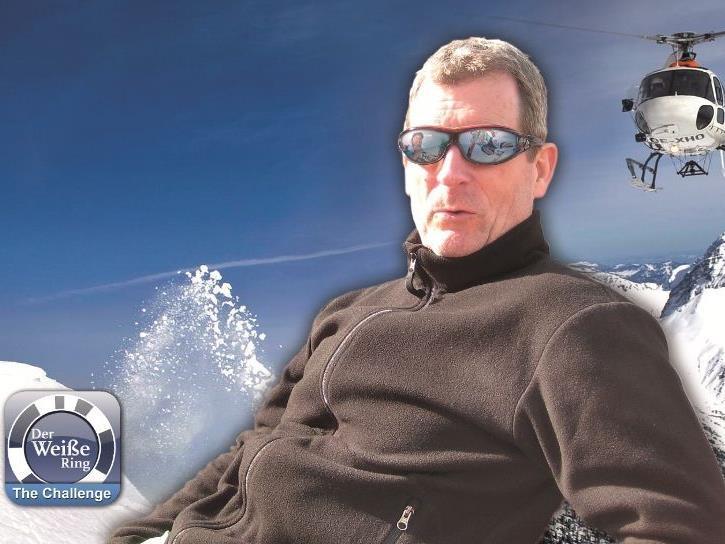 Gerd Schmitz als Challenge-Sieger im Heliskiing