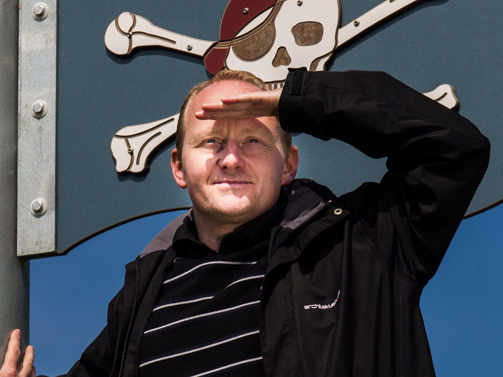 Piraten-Landessprecher Marc Fuhrken