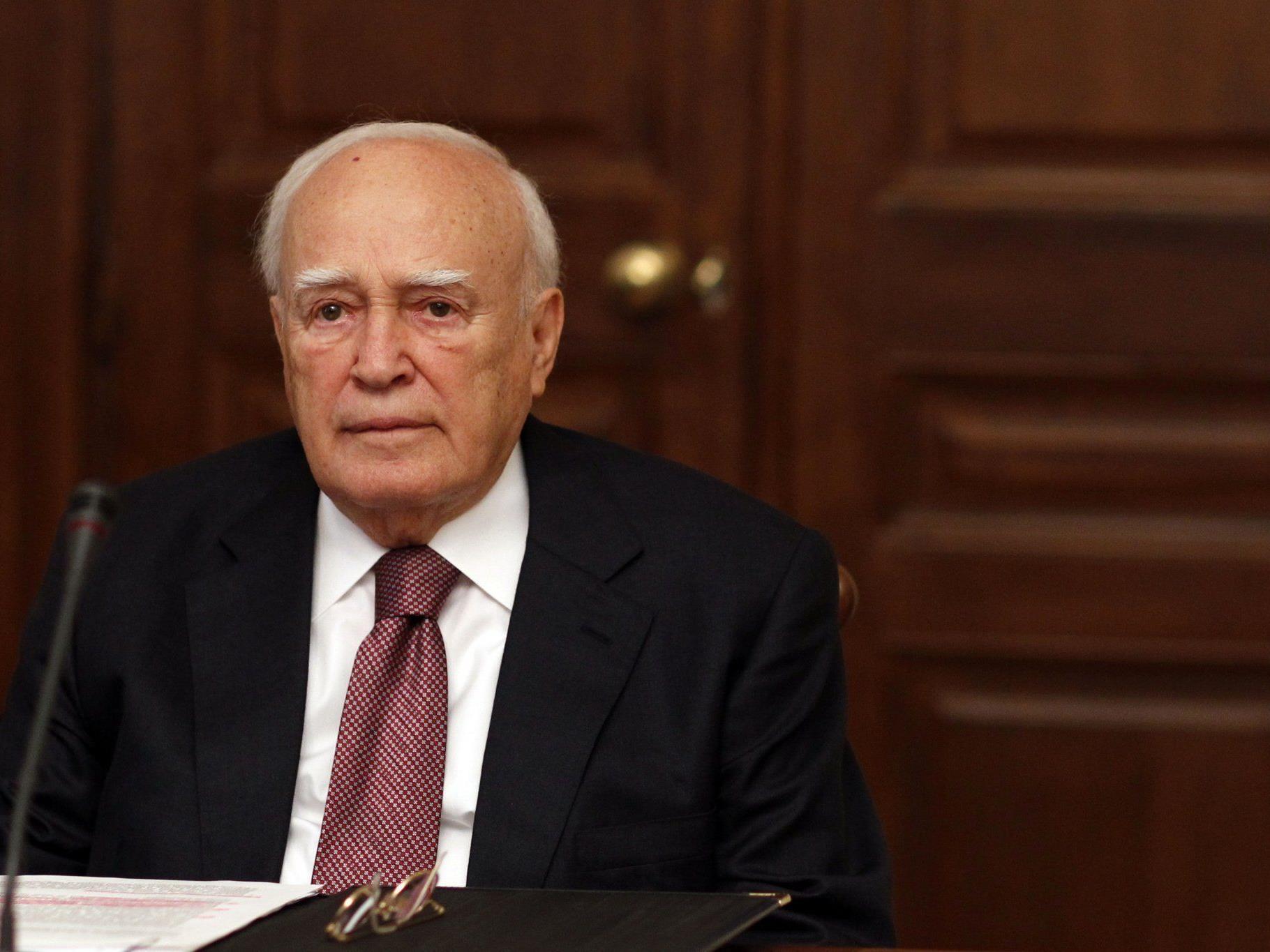 Neues Treffen am Dienstag - PASOK-Chef untersützt Vorschlag von Papoulias.
